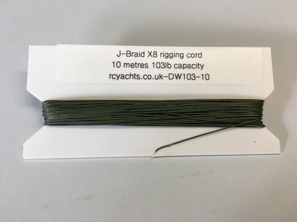 DF95 J-Braid  rig/sheet cord 10m/103lb